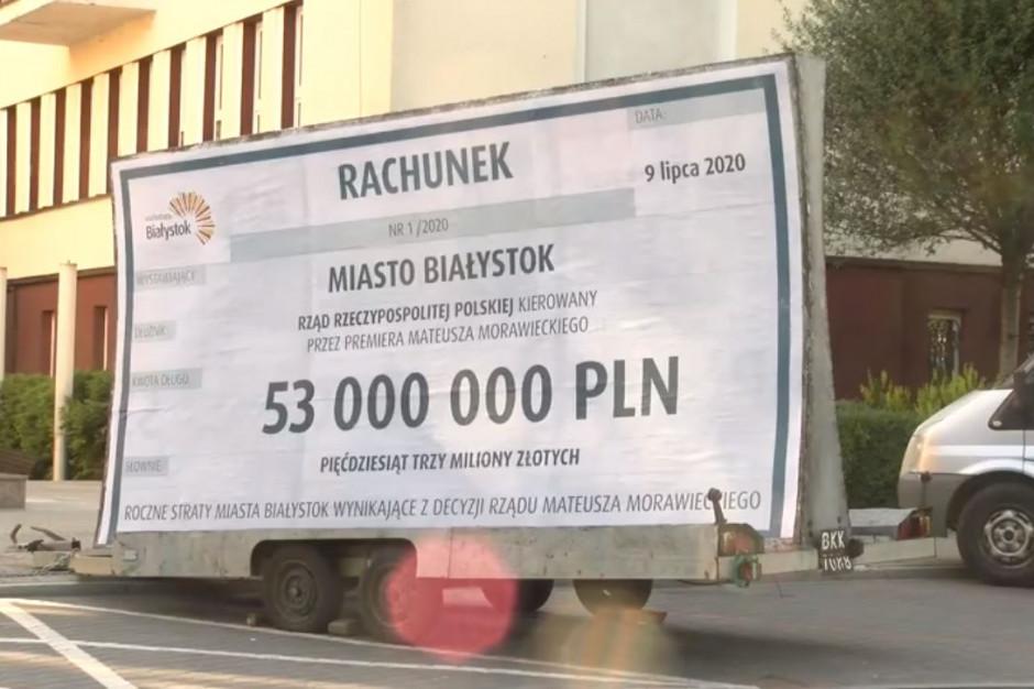 Prezydent Białegostoku wystawia rachunek rządowi. W budżecie brakuje 53 mln