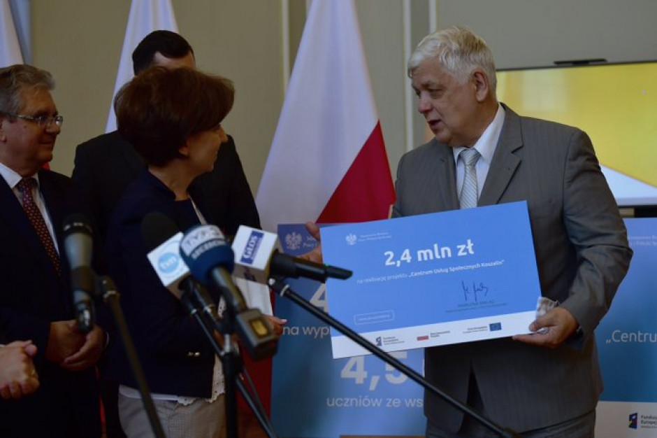 Pilotażowe centrum usług społecznych w Koszalinie. Jest promesa na 2,4 mln zł