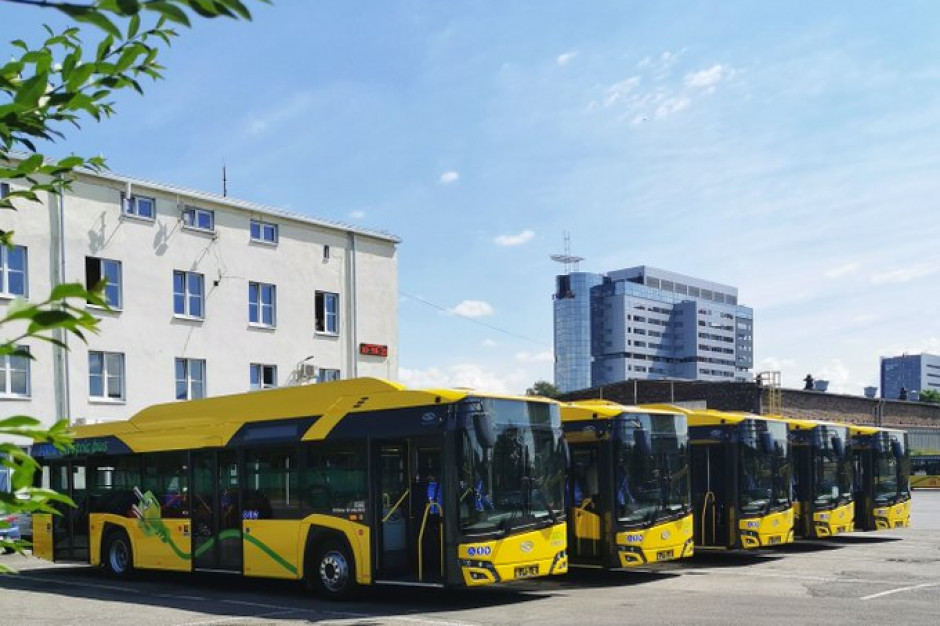 Pięć nowych autobusów elektrycznych wyjedzie wkrótce na ulice Katowic