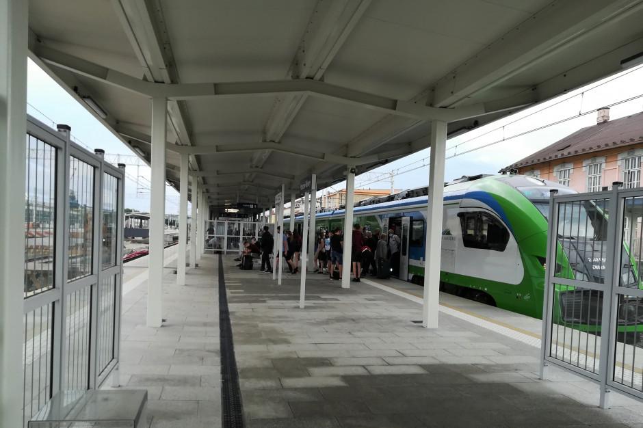 Podkarpackie: Dwa nowe perony na stacji PKP w Rzeszowie