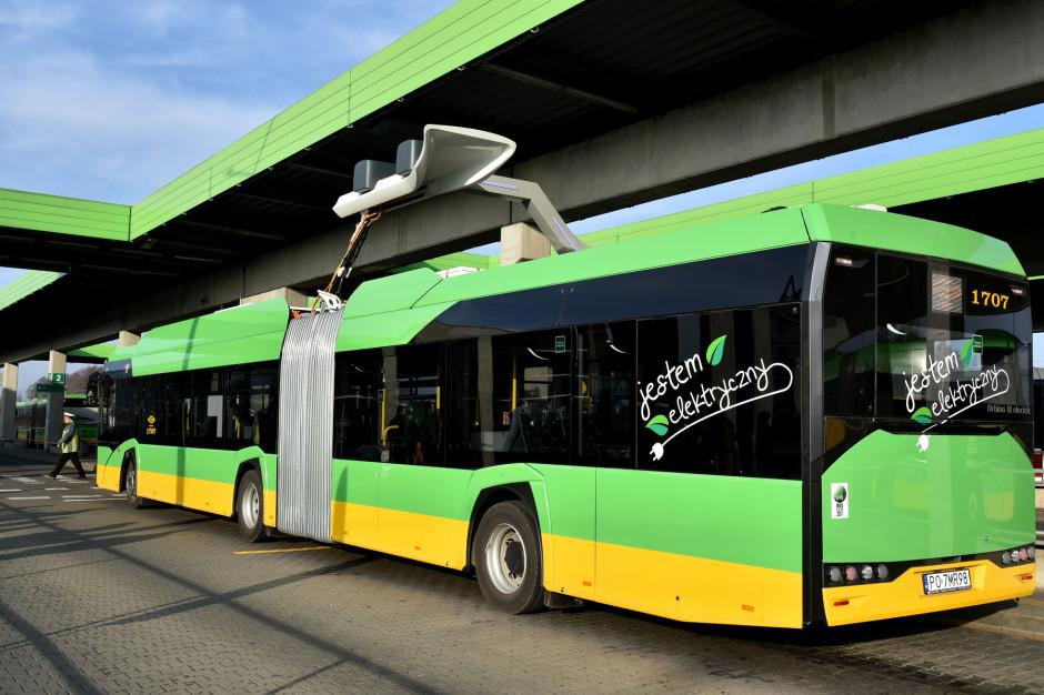 Poznań instaluje kolejne ładowarki dla autobusów elektrycznych