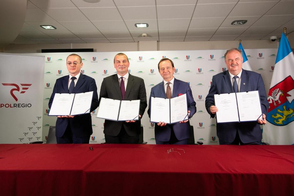 Podkarpackie: Blisko 466 mln zł na przewozy kolejowe