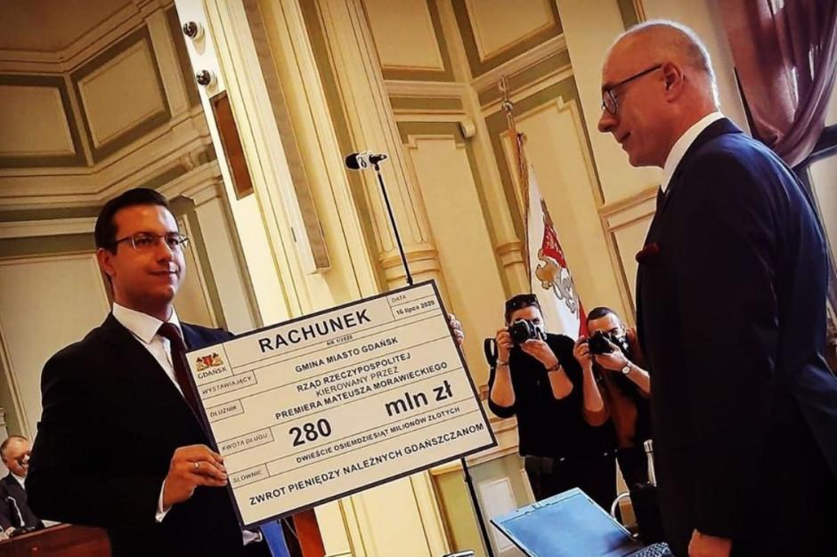 Gdańscy radni: Wystawiamy rządowi rachunek na 280 mln zł