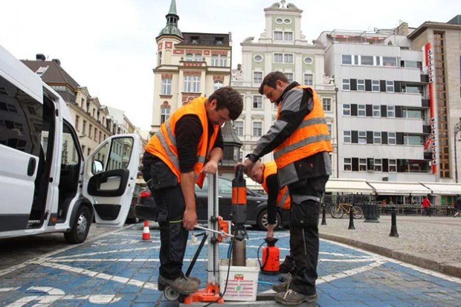 We Wrocławiu system pokaże, gdzie jest wolne miejsce parkingowe