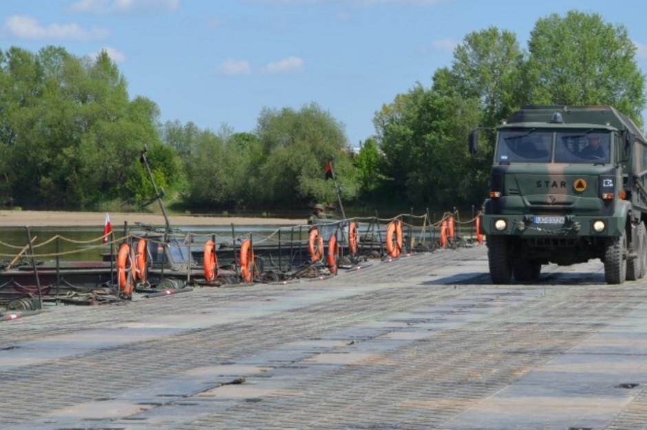 Małopolskie: Na Wiśle powstaje most tymczasowy