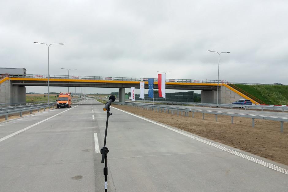 Kierowcy mogą już korzystać z dwóch jezdni od Kołbieli do węzła Lubelska
