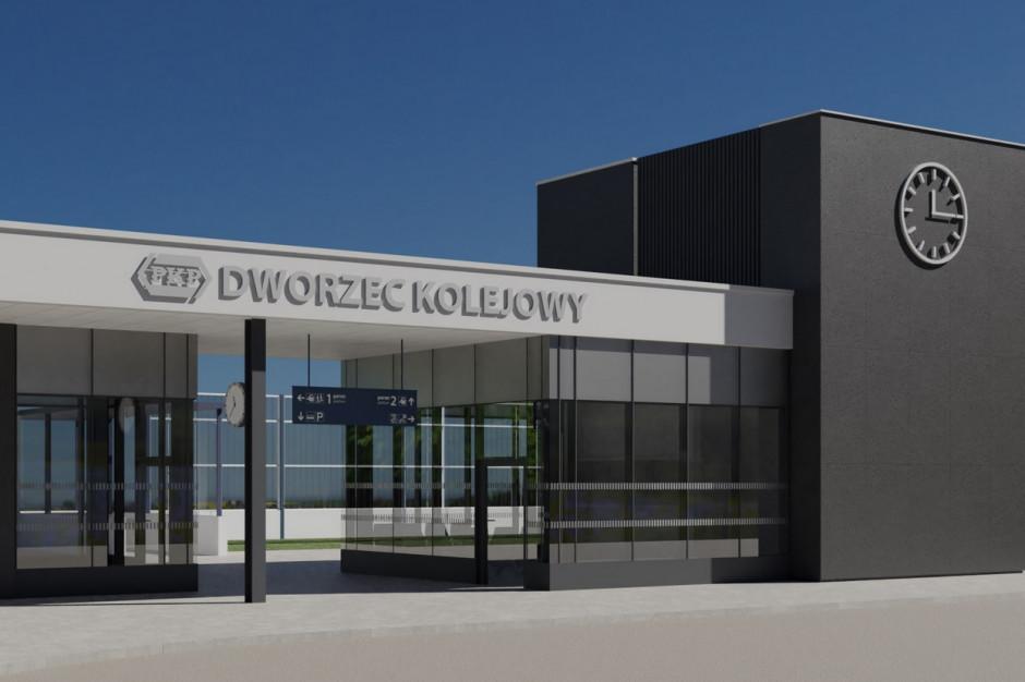 Podkarpackie: Czarna będzie mieć nowoczesny dworzec PKP