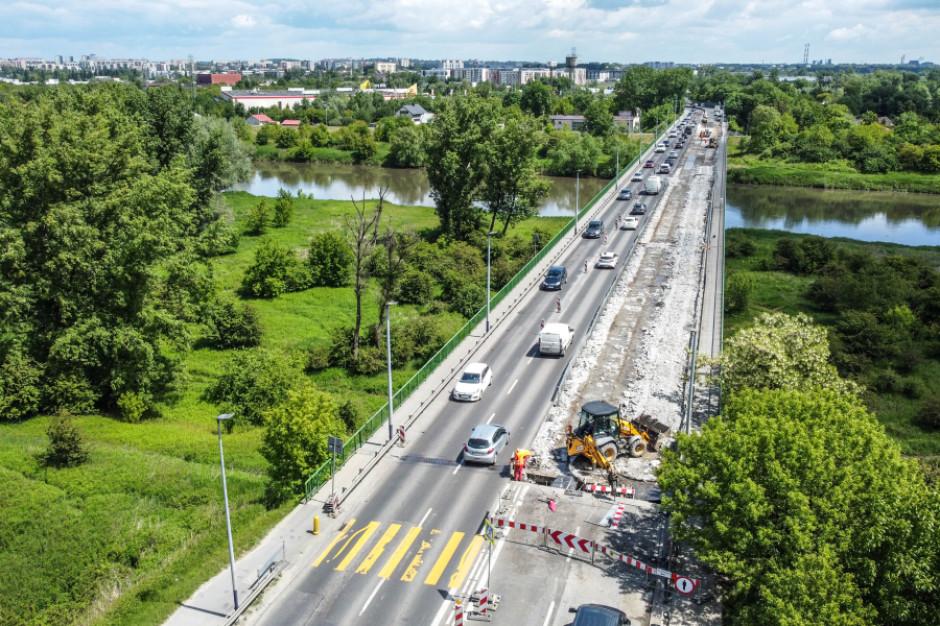Kraków: Remont Mostu Nowohuckiego. Ruchu zamknięty przez cały weekend