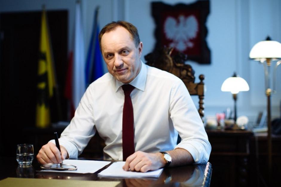 Marszałek Struk sprawozdawcą w Komitecie Regionów