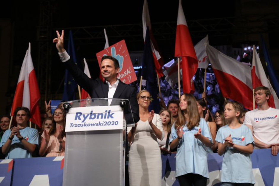 Rp.pl: Ponad połowa Polaków uważa Trzaskowskiego za lidera opozycji