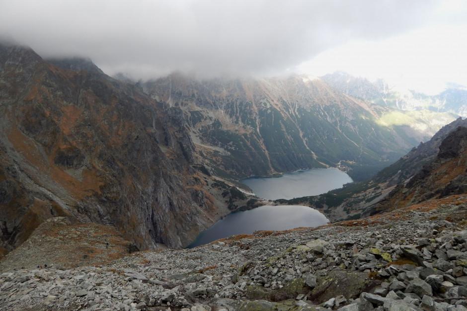 W Tatrach po opadach podtopione szlaki, w Bieszczadach zmieniono przebieg części tras