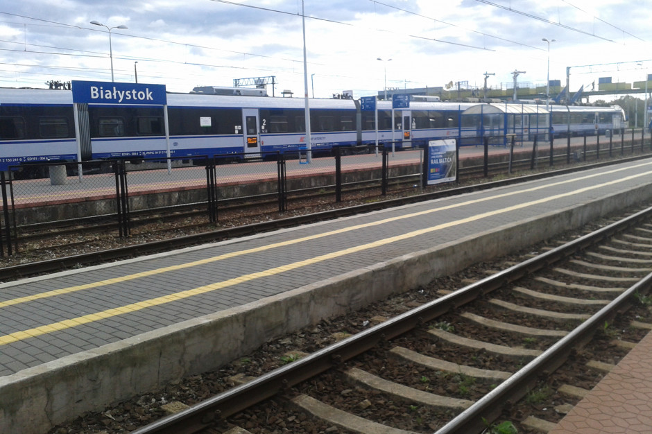 Podlaskie: konsultacje ws. linii kolejowej: Białystok - granica państwa