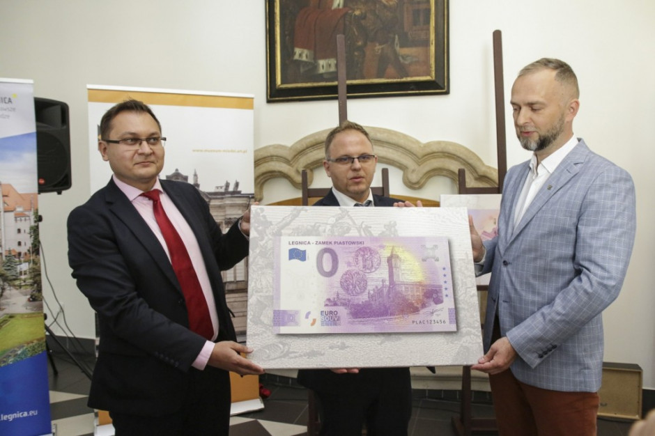 Legnica drugim polskim miastem z pamiątkowym banknotem 0 euro