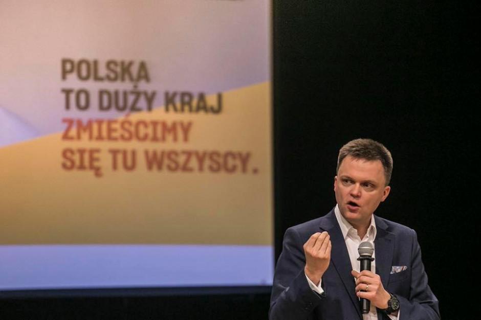 Hołownia poinformował o utworzeniu ruchu społecznego Polska 2050