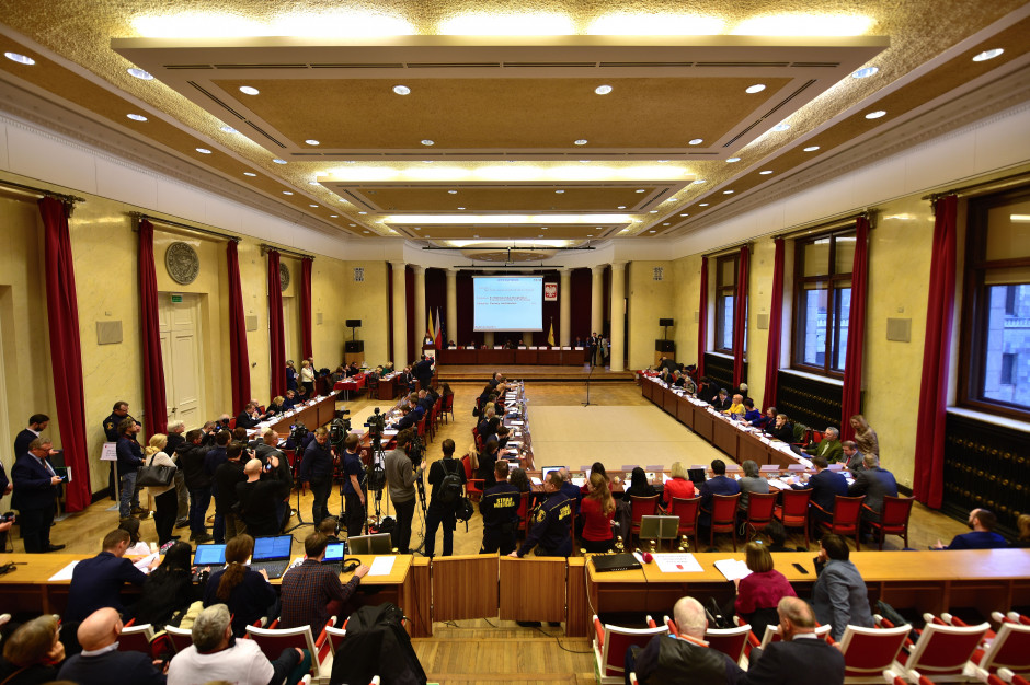 Warszawa: Po raz pierwszy w historii nie odbyła się uroczysta sesja Rady Miasta
