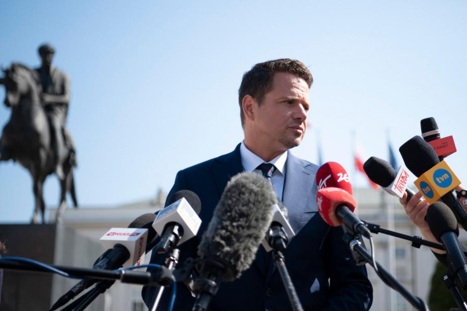 Sąd Najwyższy podjął decyzję w sprawie protestu wyborczego komitetu Trzaskowskiego