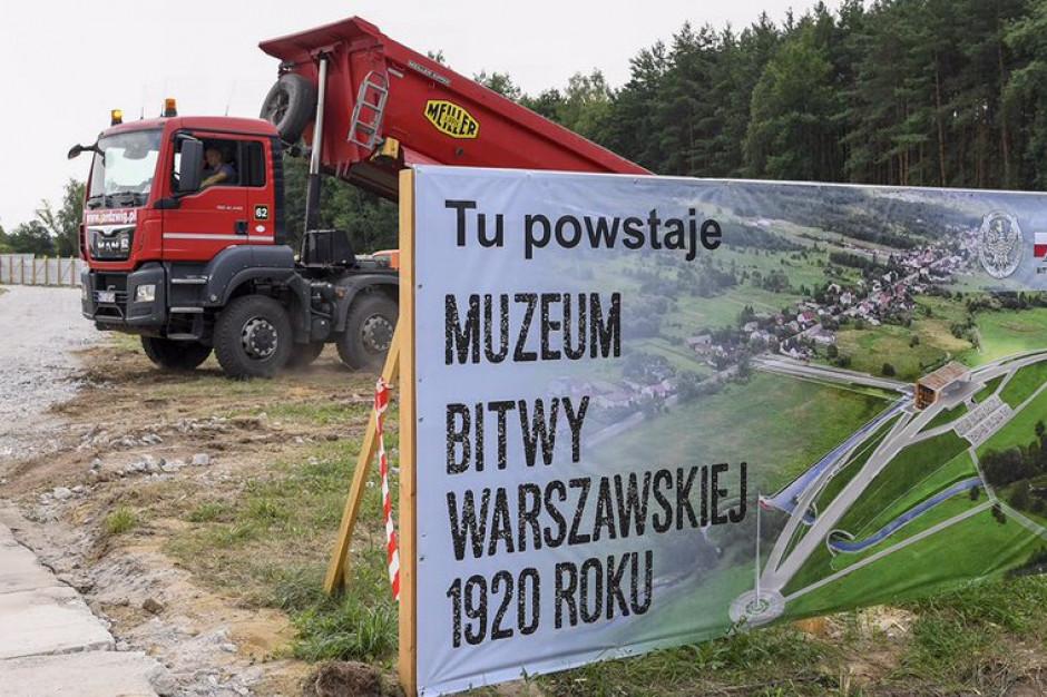 Rozpoczęła się budowa Muzeum Bitwy Warszawskiej w Ossowie