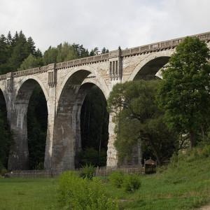 Województwo warmińsko - mazurskie - Mosty w Stańczykach (fot. Honza Groh (CC BY - SA 3.0)