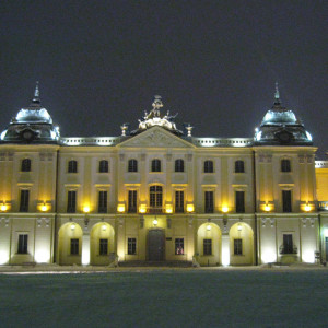 Województwo podlaskie - Pałac Branickich w Białymstoku (fot. John Cooke CC BY - SA 2.0)