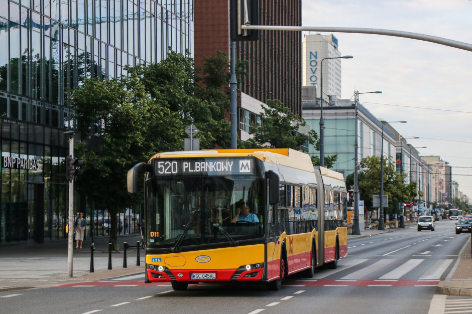 Warszawski tabor powiększy się o 70 autobusów na gaz