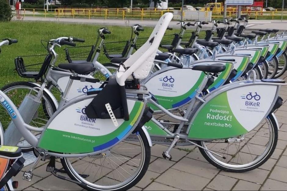 Mimo epidemii rower miejski osiągnął dobry wynik