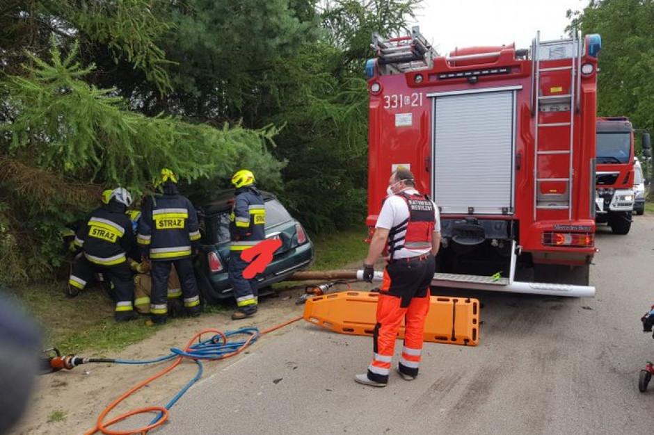 440 interwencji strażaków związanych z burzami