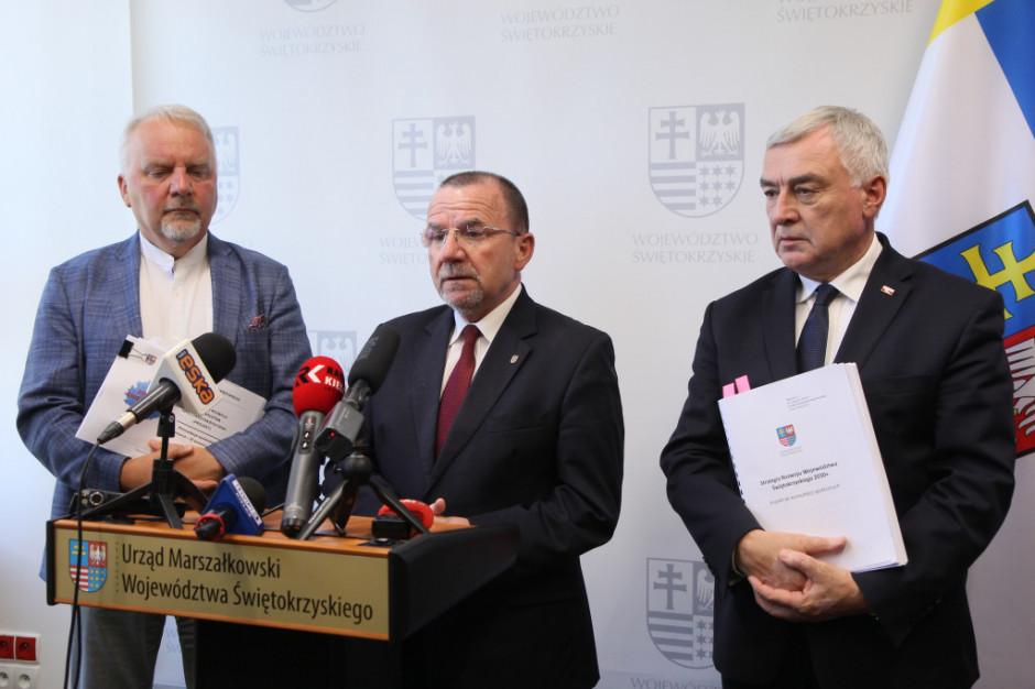 Ruszyły prace nad projektem strategii rozwoju województwa świętokrzyskiego do roku 2030