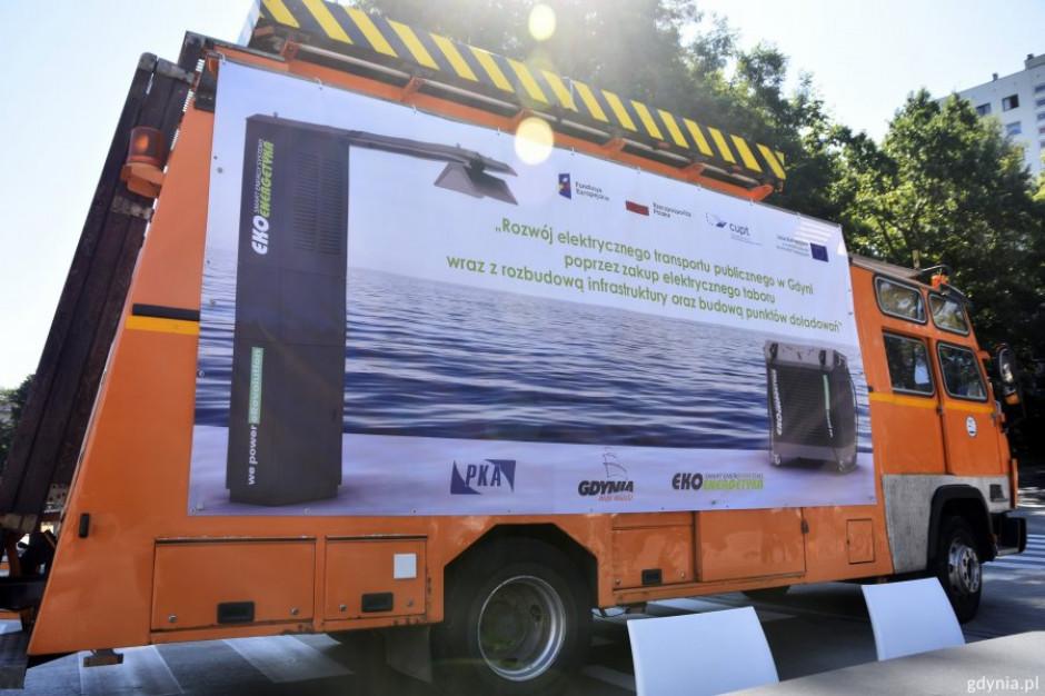 Gdynia buduje stacje ładowania elektrobusów. Nowe pojazdy zastąpią spalinowe autobusy