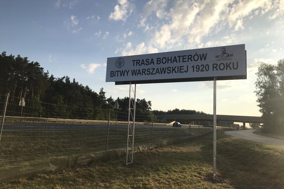 Droga S8 od dziś Trasą Bohaterów Bitwy Warszawskiej 1920 roku