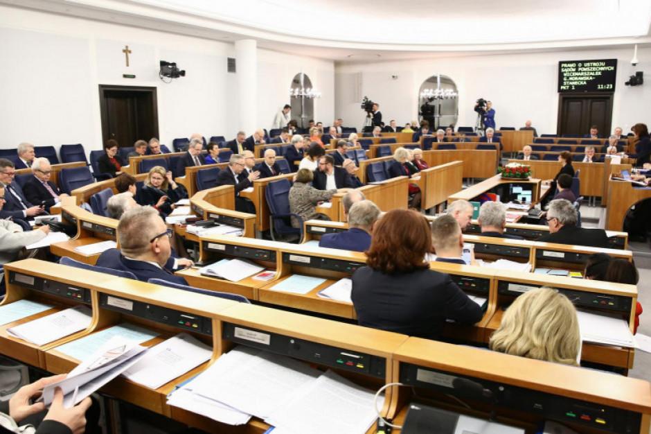 W poniedziałek i wtorek kontynuacja posiedzenia Senatu