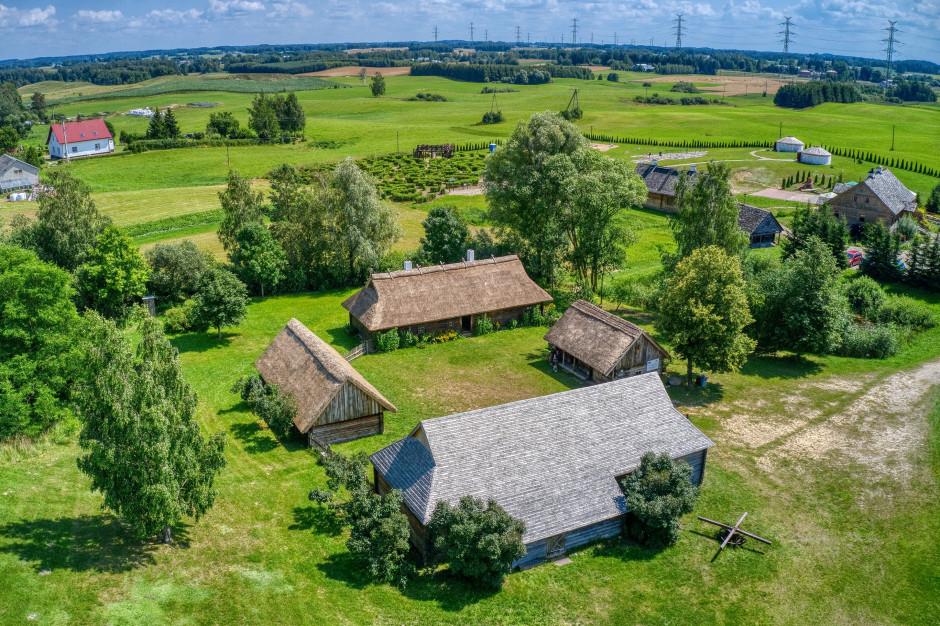 Podlaskie: Litewski Skansen w Puńsku można zwiedzić on-line