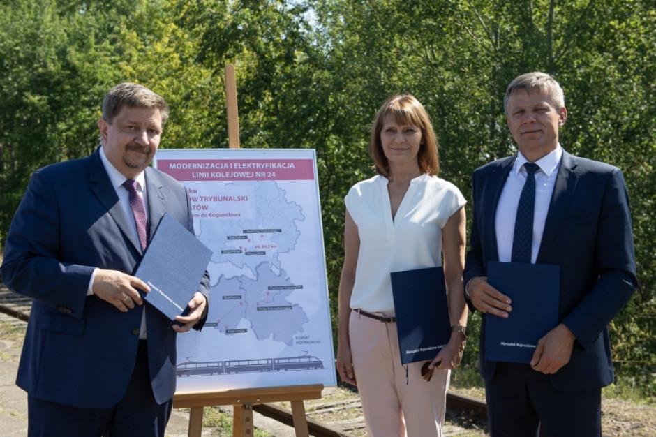 Schreiber i Bętkowski porozumieli się ws. elektryfikacji linii kolejowej