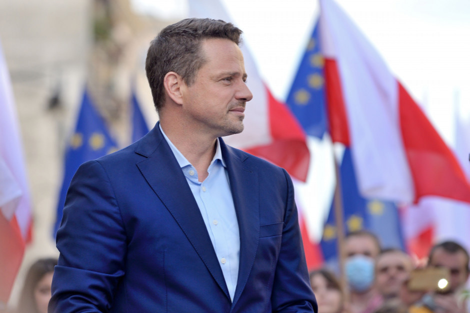 Warszawski ratusz potwierdza, 15 sierpnia Rafał Trzaskowski był na urlopie