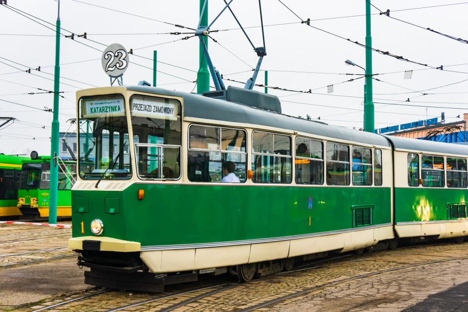 Poznań: Parada pojazdów MPK Poznań w ramach obchodów 140-lecia komunikacji miejskiej