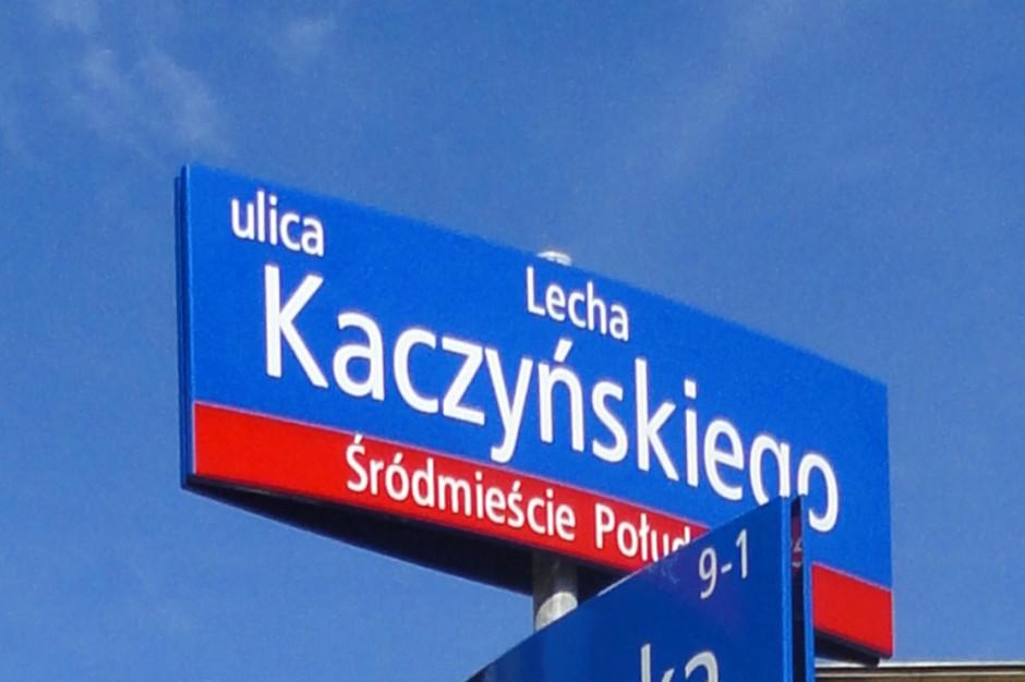 Warszawa: Wniosek o nadanie ulicy im. Lecha Kaczyńskiego na jesieni