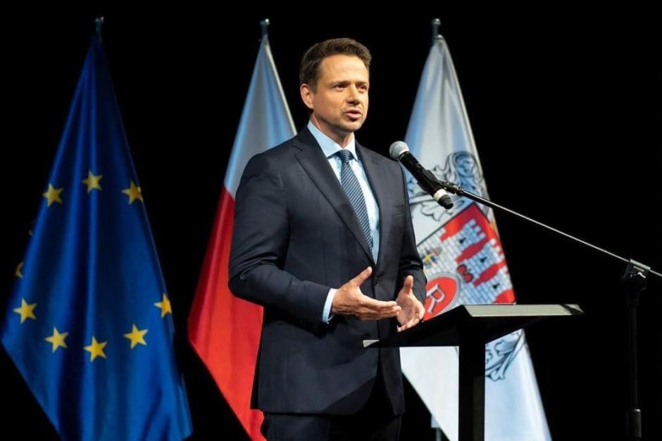 Trzaskowski: Jako pakt Wolnych Miast stoimy murem za Białorusinami