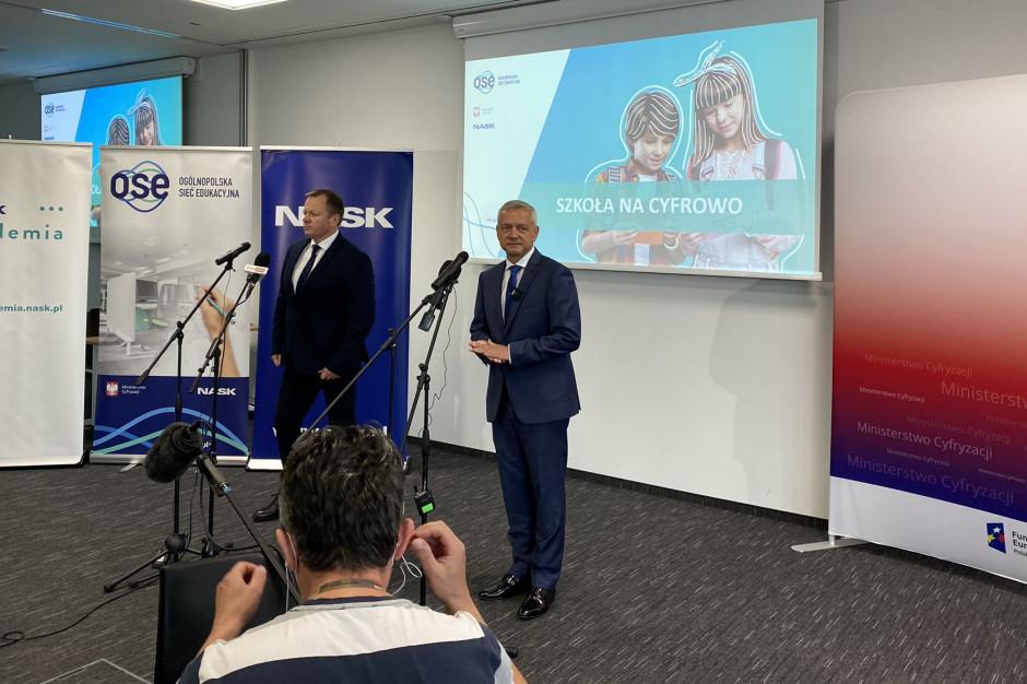 Już 14,6 tys. podłączonych do Ogólnopolskiej Sieci Edukacyjnej