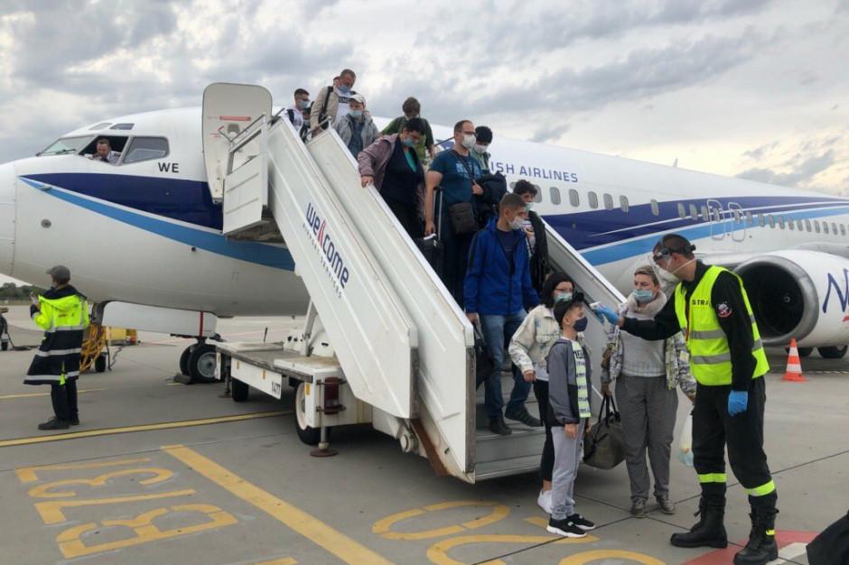 85 repatriantów z Kazachstanu przyleciało do Poznaniu