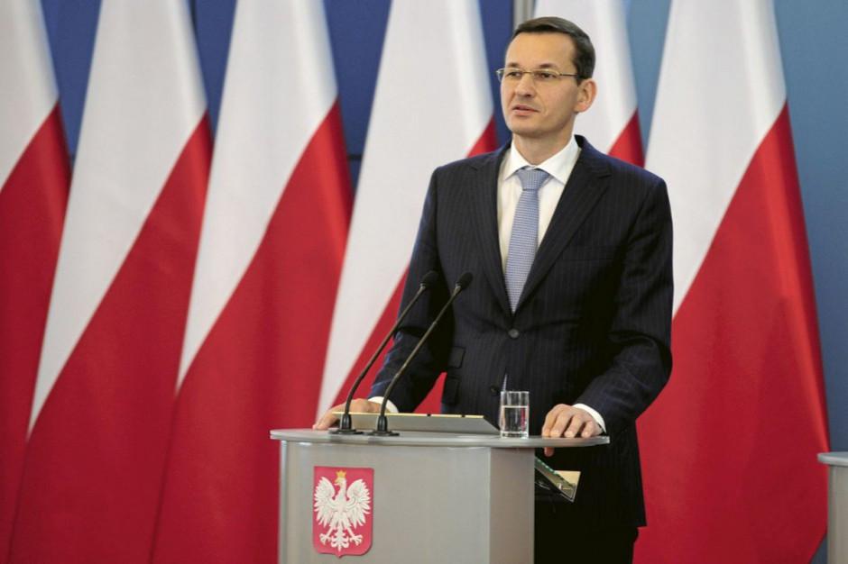 Premier zapowiada przyjęcie Polskiego Ładu do listopada