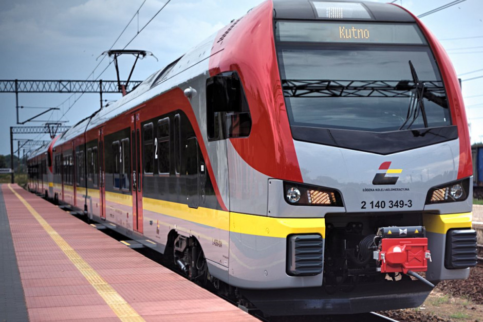 MI: w grudniu pociągi mają wrócić na trasę z Łodzi do Kutna