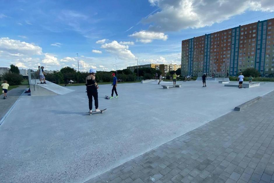 Poznań: Zakończono budowę skateparku na Piątkowie