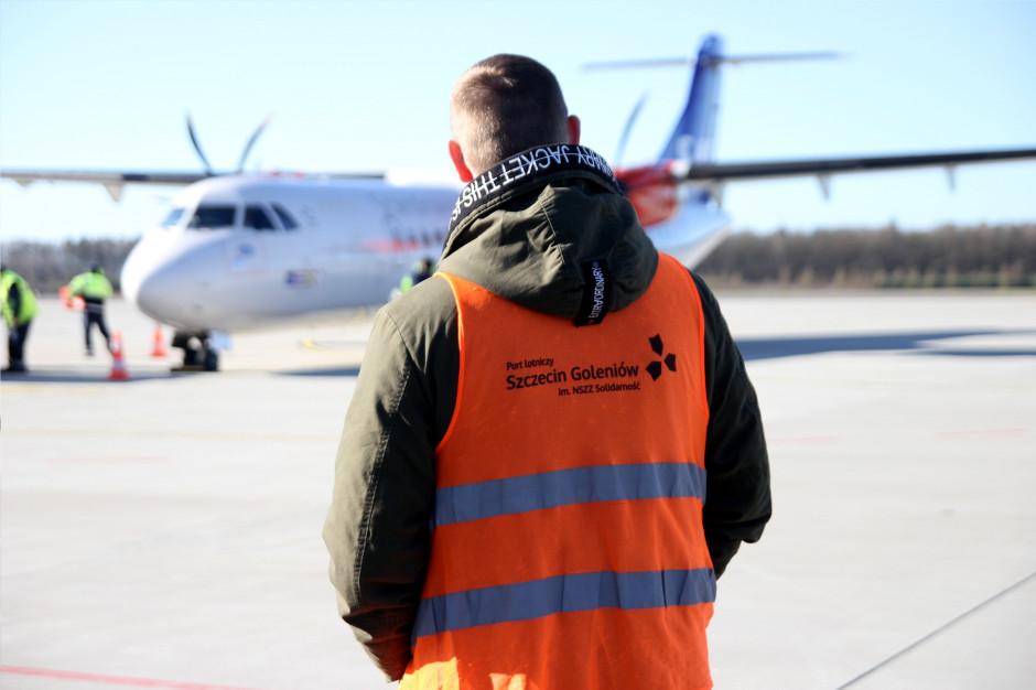 Port Lotniczy Szczecin-Goleniów bliski upadłości. Czeka na rządowe wsparcie