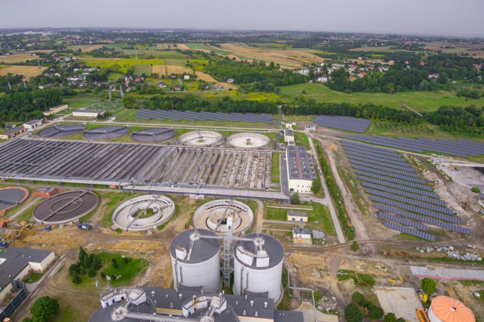 Lublin: Farma fotowoltaiczna zasili oczyszczalnię ścieków w energię