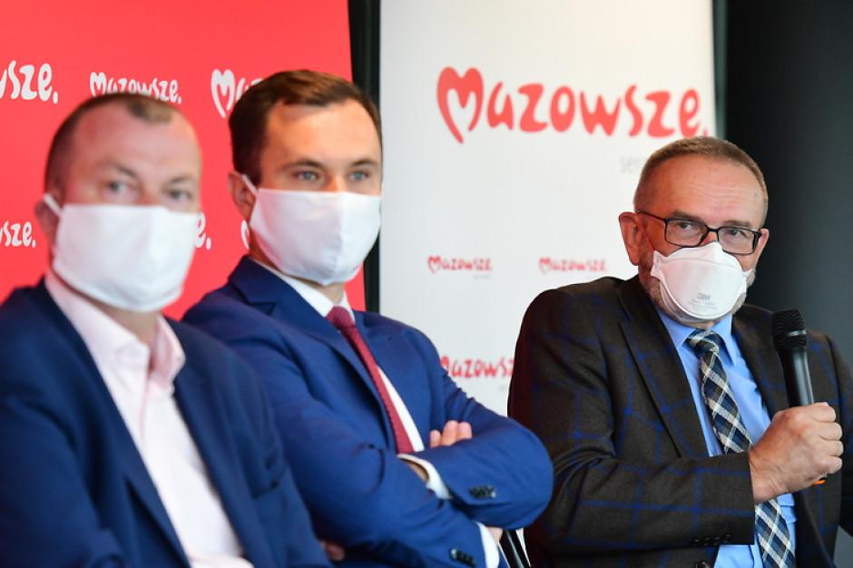 Marszałkowscy urzędnicy o skutkach ewentualnego podziału Mazowsza
