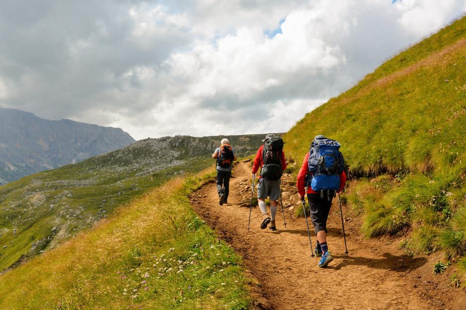 Bieszczady: Spory ruch turystyczny w górach