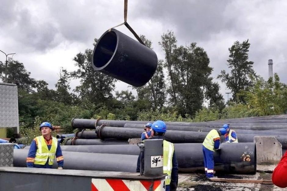 Warszawa: Trwają przygotowania do budowy tymczasowego rurociągu