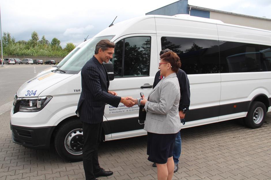 Kalisz: Nowe busy będą dowozić niepełnosprawne dzieci do szkoły