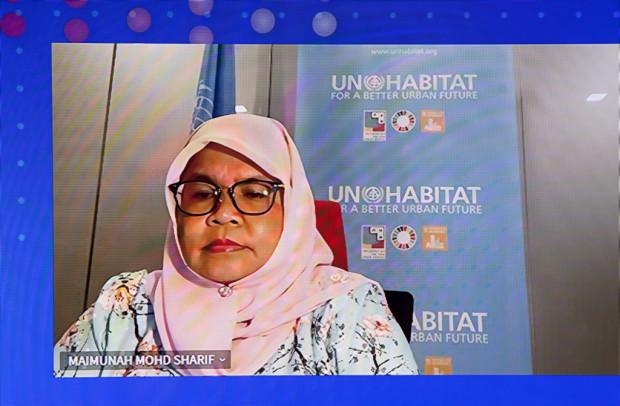 Maimunah Mohd Sharif dyrektor wykonawczy, Program Narodów Zjednoczonych ds. Osiedli Ludzkich (UN-Habitat)