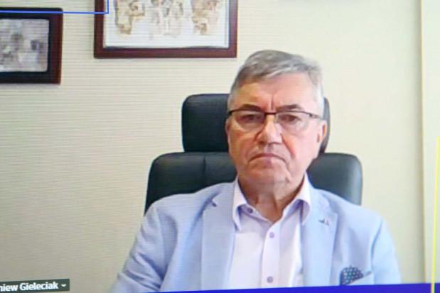 Zbigniew Gieleciak prezes Regionalnego Centrum Gospodarki Wodno-Ściekowej w Tychach