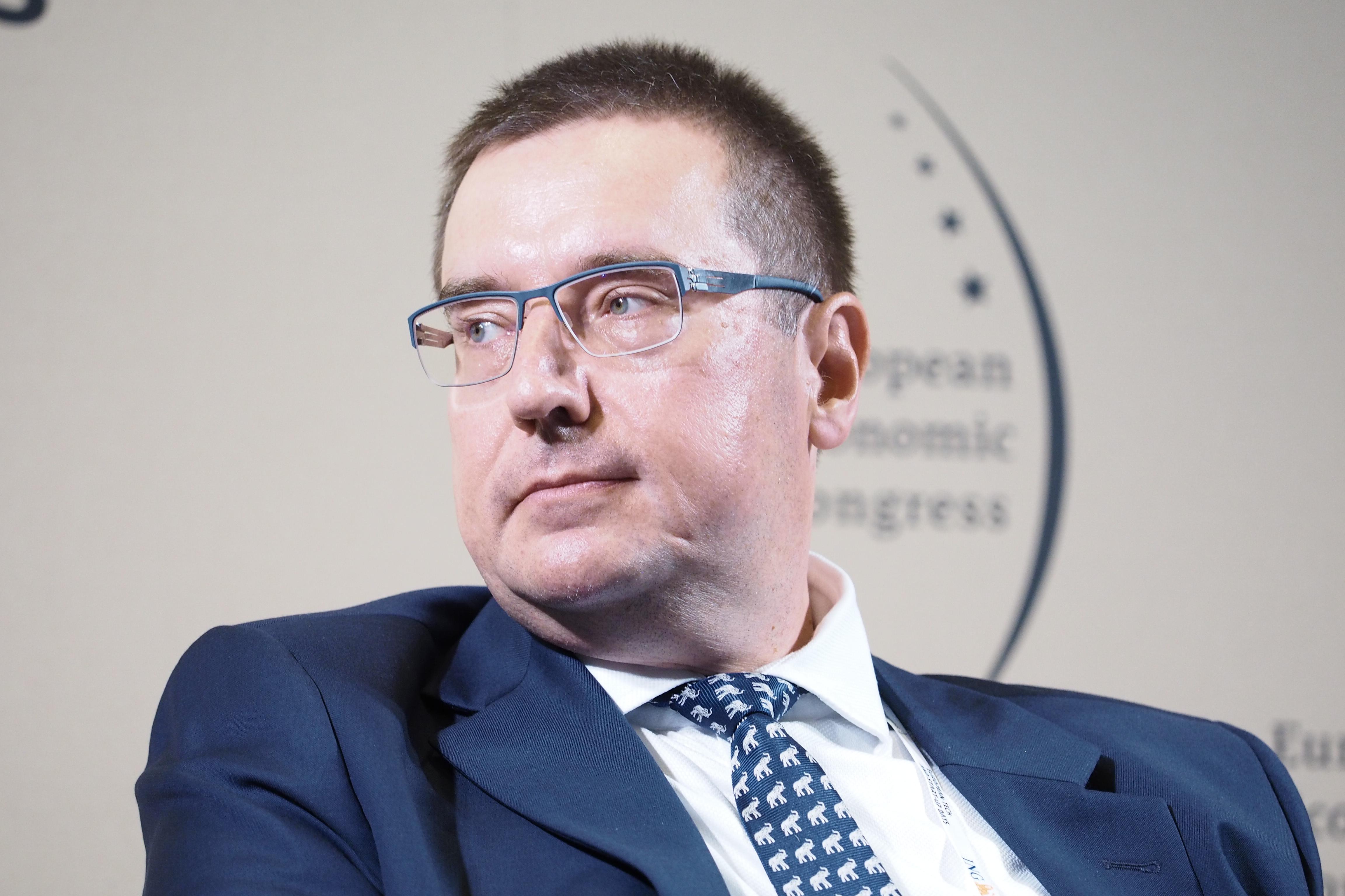 Prezesa zarządu Towarzystwa Ubezpieczeń Wzajemnych Polski Zakład Ubezpieczeń Wzajemnych Rafał Kiliński (Fot. PTWP)